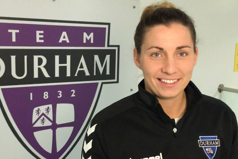 JW Wood Sponsored Durham Women FC sign champions league defender
