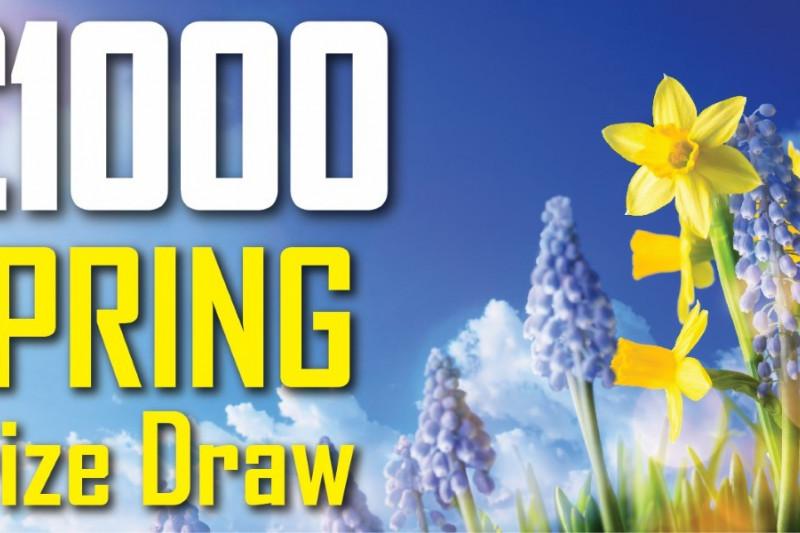 #SpringForSale Promotion