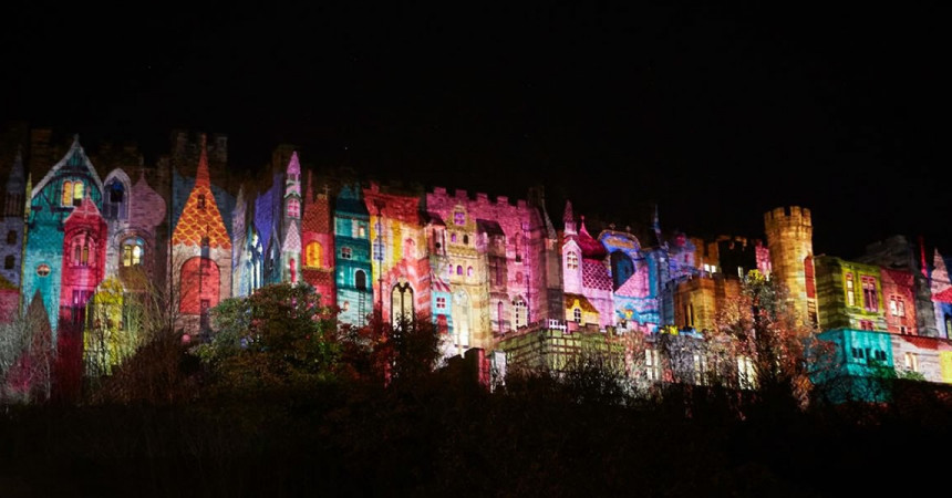 Six years on it has become the UK's largest light festival.