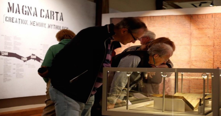 Durham's Magna Carta goes on public display
