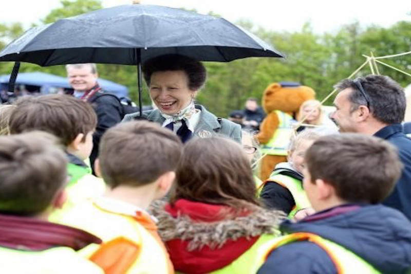 Princess Anne arrives to open new Durham Police HQ