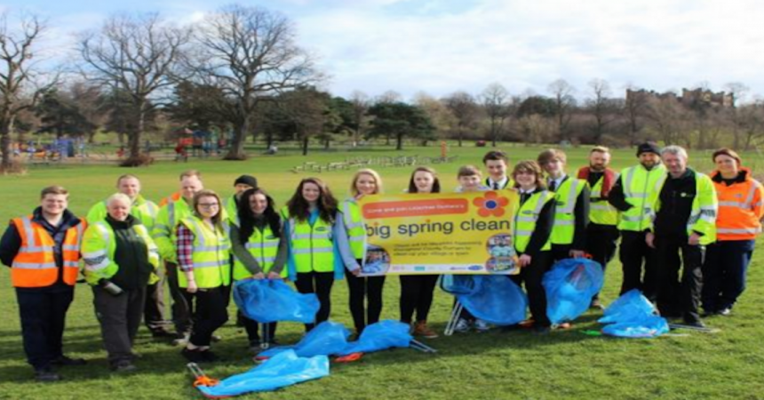 Volunteers help spruce up Chester-le-Street's Riverside Park