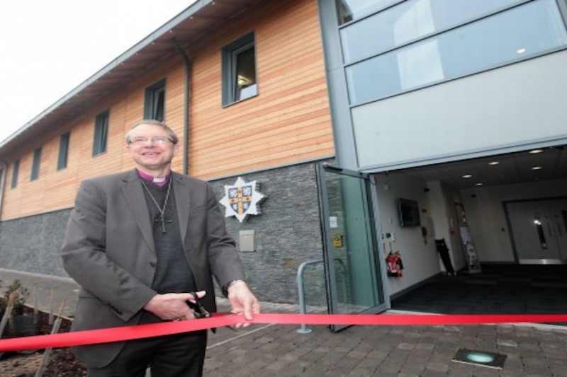 Bishop of Durham officially opens new Durham fire station