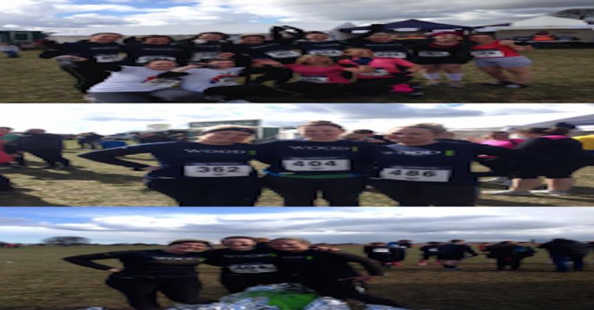 JW Wood Girls Run Muddy Mayhem For Charity