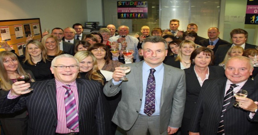 Celebrations at Durham Office