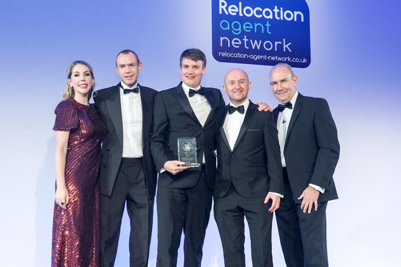 JW Wood named Best Agent in the North East region by Relocation Agent Network