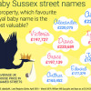 Baby Sussex Street Names