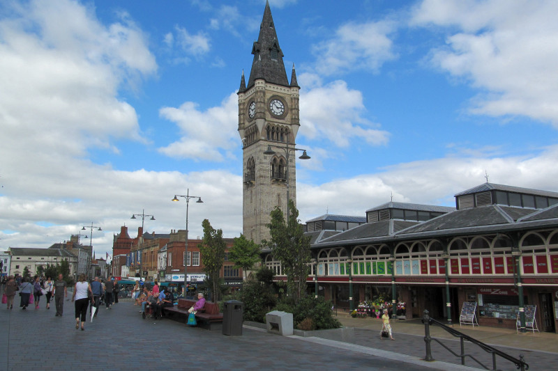 Darlington, the beating heart of the North East...